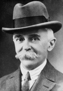 Pierre de Coubertin. Fotó: Wikipédia