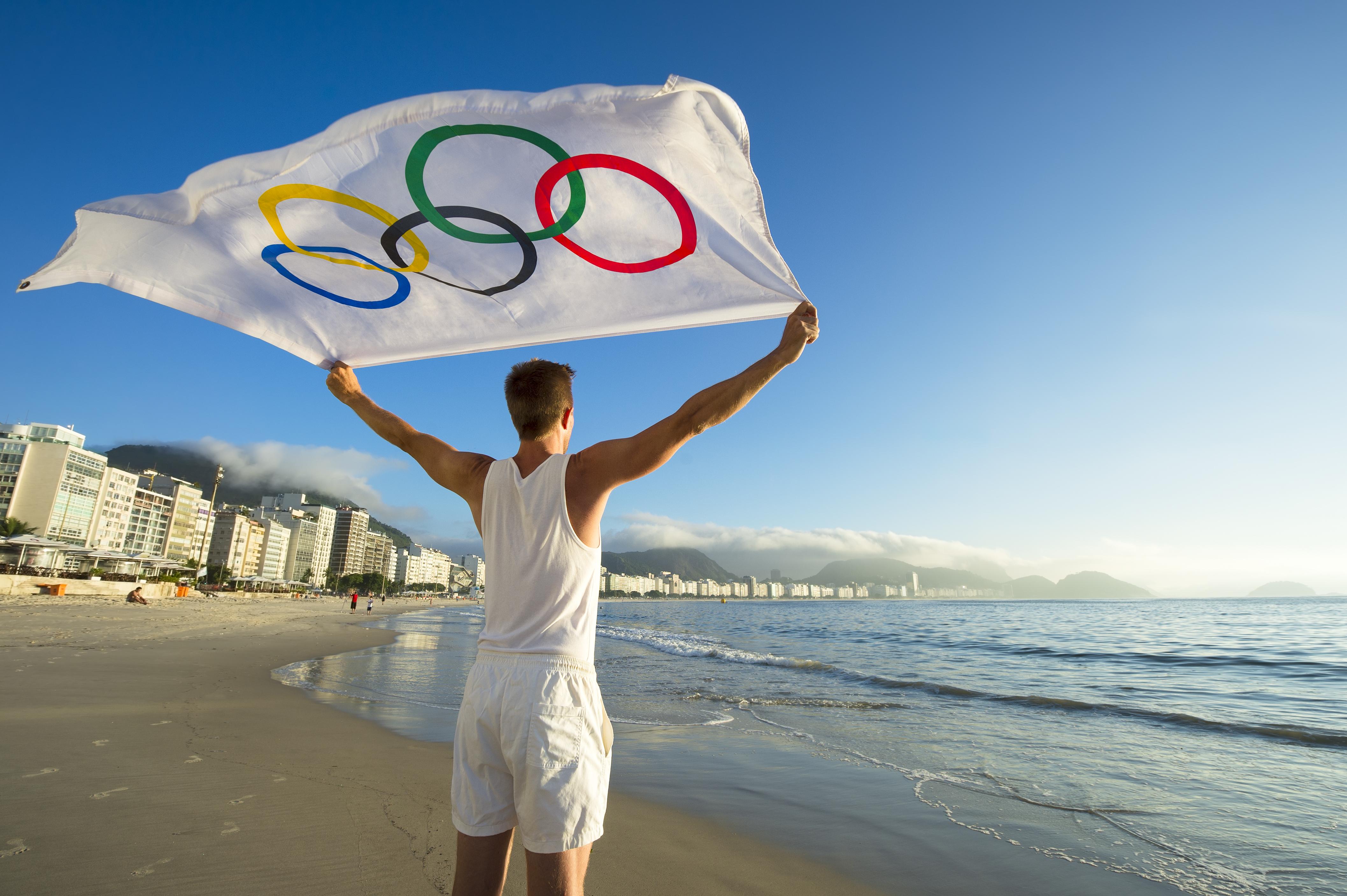 A híres Copacabana strand. Fotó: lazyllama / Shutterstock.com