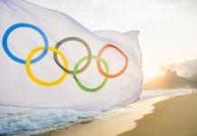 Olympic Flag - Fotó: lazyllama / Shutterstock.com